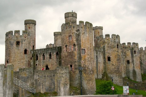 Conwy Castle Wales Photography Medieval