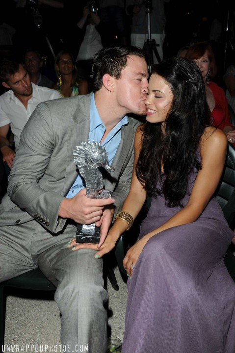 Channing Tatum Jenna Dewan Tatum Ischia And Jenna Dewan Wedding