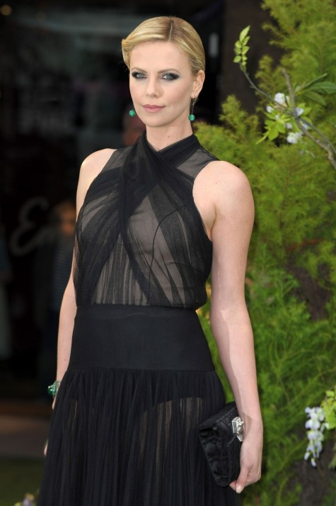 Charlize Theron At Snow White And The Huntsman Premiere In London Snow White