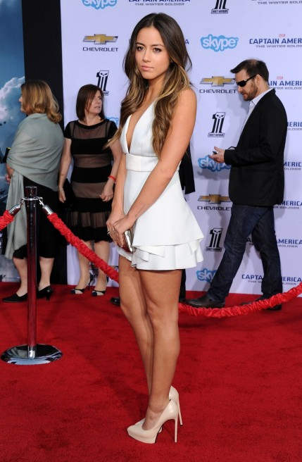 Chloe Bennet At Captain America The Winter Soldier Premiere In Hollywood