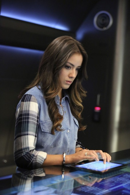 Chloe Bennet At Marvel Agents Of Shield Ep Shield