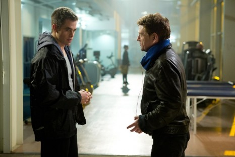 Kenneth Branagh And Chris Pine In Jack Ryan Shadow Recruit Large Picture