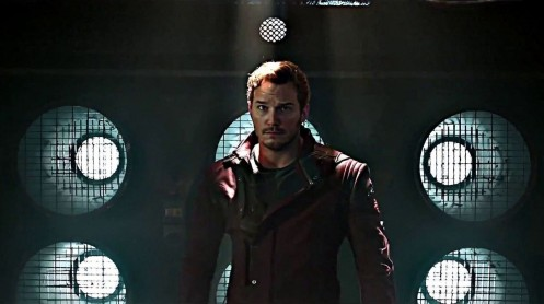 Chris Pratt In Guardians Of The Galaxy Movie Wallpaper