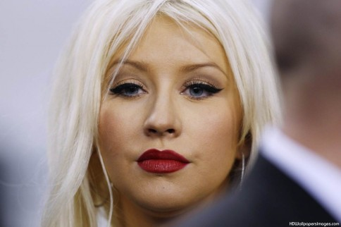 Christina Aguilera Desktop Background