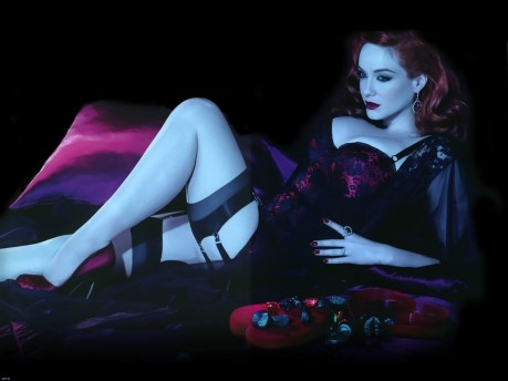 Christina Hendricks Wallpaper Bikini