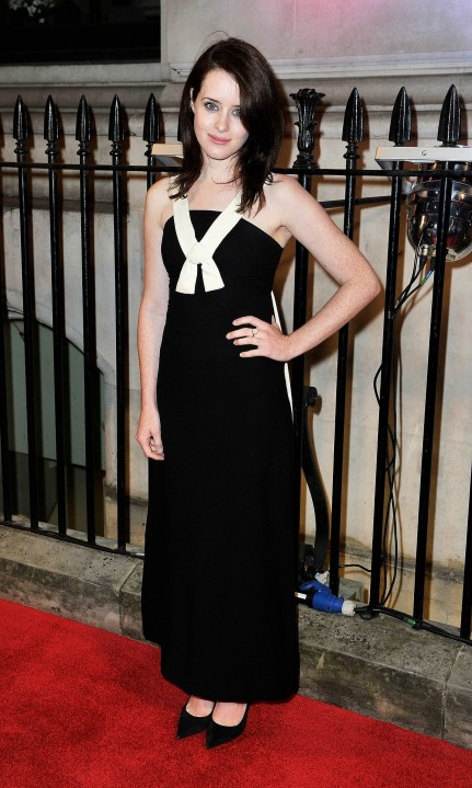 Claire Foy Obviously Got Memo About Black White Trend