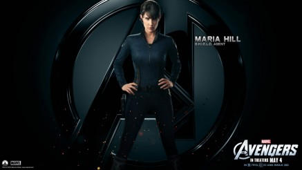 Cobie Smulders In The Avengers Wallpaper