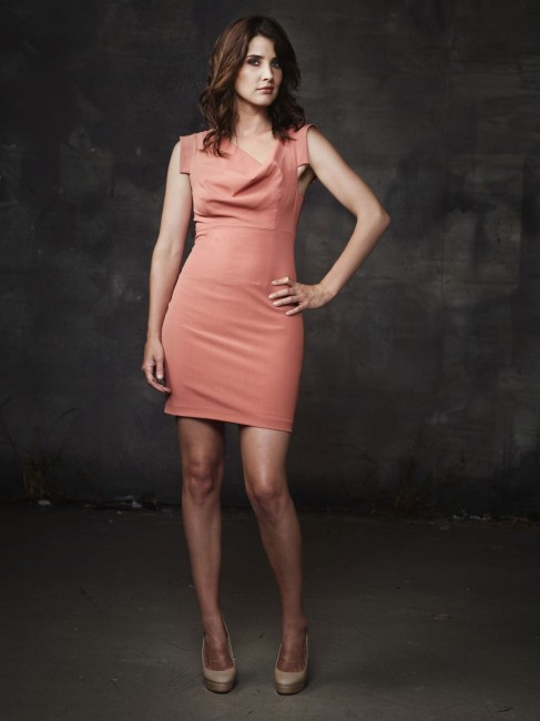 Cobie Smulders Pink How Met Your Mother