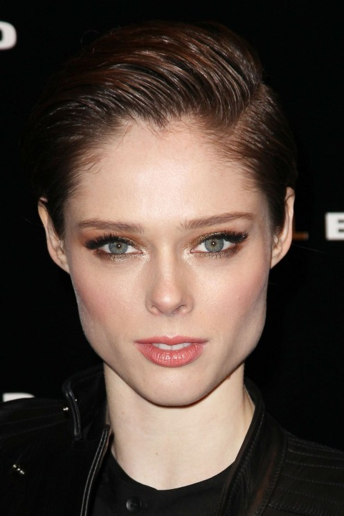 Coco Rocha At Diesel Black Gold Fashion Show In New York