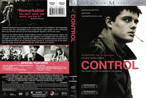 Control Dvdcover Movie