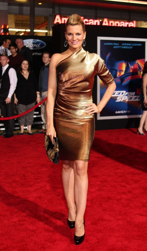 Courtney Hansen Need For Speed Premiere