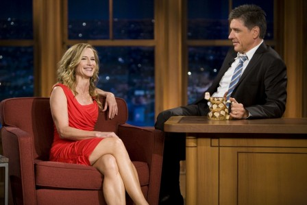 Late Late Show With Craig Ferguson Holly Hunter