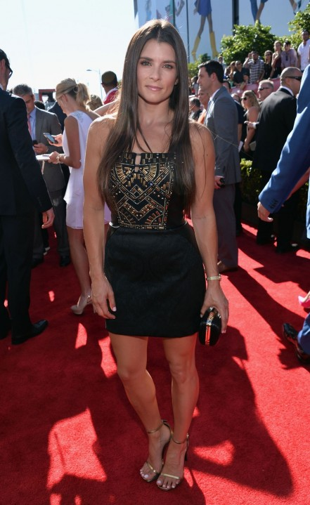 Danica Patrick At Espy Awards In Los Angeles Tattoo