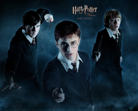 Daniel Radcliffe In Harry Potter And The Order Of The Phoenix Wallpaper Harry Potter