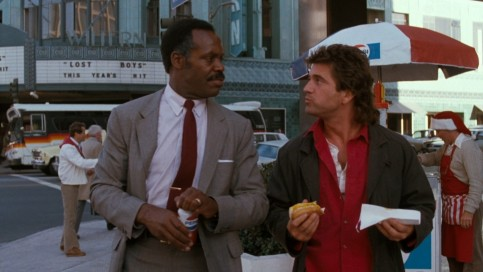 Lethal Weapon Danny Glover Mel Gibson Lethal Weapon