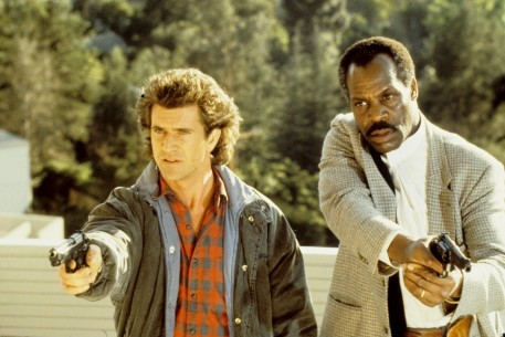 Still Of Mel Gibson And Danny Glover In Arma Mortala