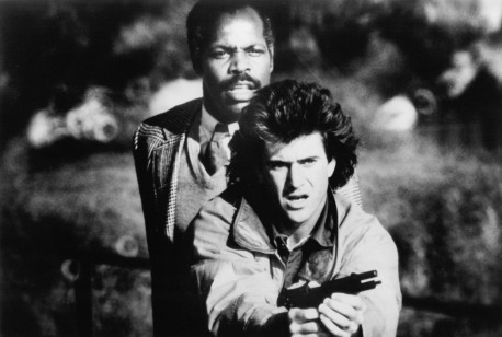 Still Of Mel Gibson And Danny Glover In Arma Mortala Large Picture Lethal Weapon