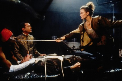 Still Of Keanu Reeves Dina Meyer And Udo Kier In Johnny Mnemonic Large Picture