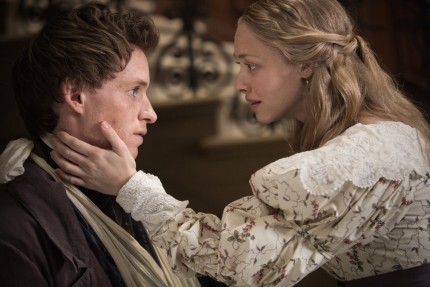 Les Miserables Eddie Redmayne Amanda Seyfried Fashion