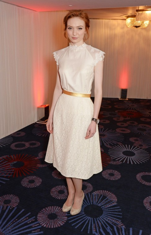 Eleanor Tomlinson At Jameson Empire Awards In London