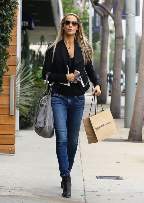 Elizabeth Berkley Out And About In Beverly Hills