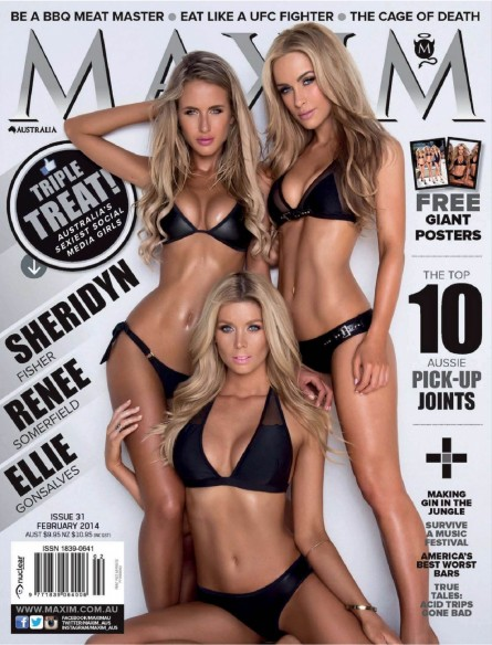 Ellie Gonsalves Renee Somerfield Sheridyn Fisher Tv