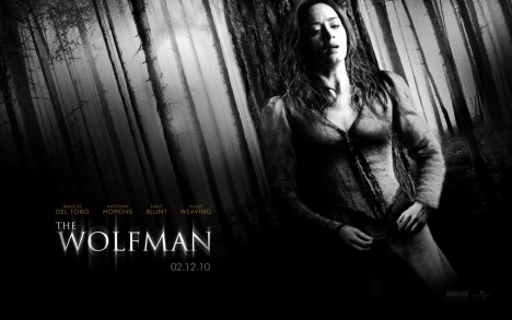 Emily Blunt In The Wolfman Wallpaper