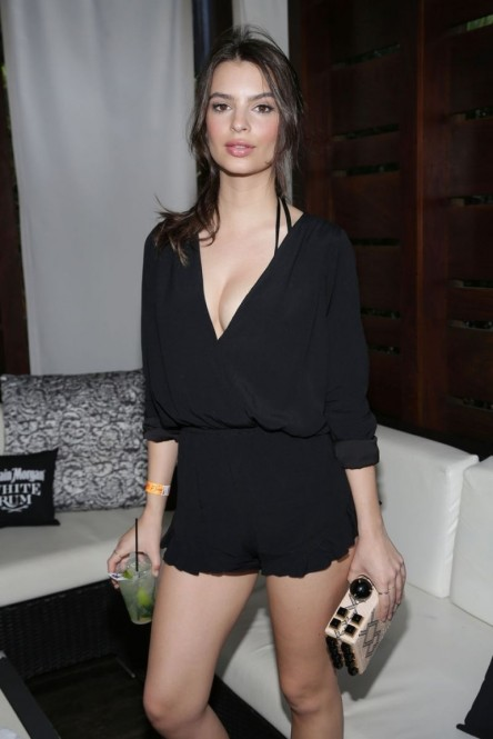 Emily Ratajkowski At Captain Morgan Celebrates Si Swimsuit Th Anniversary