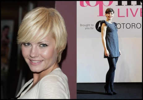 Elisha Cuthbert Pixie Emma Heming Willis Short Cut With Bangs