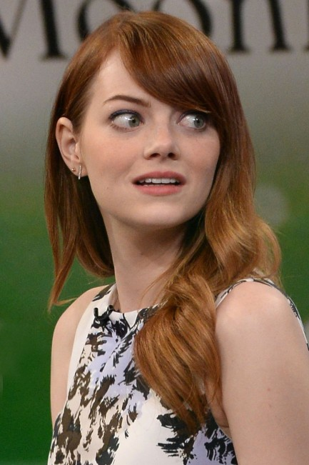 Emma Stone At Good Morning America In