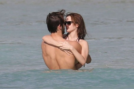 Emma Watson Bikini Photos With New Boyfriend Matt Janney Beach