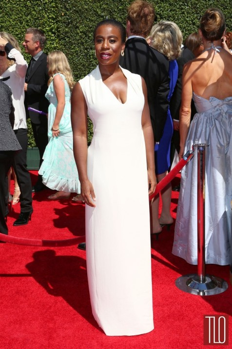 Uzo Aduba Creative Arts Emmy Awards Red Carpet Costume National Tom Lorenzo Site Tlo Red Carpet
