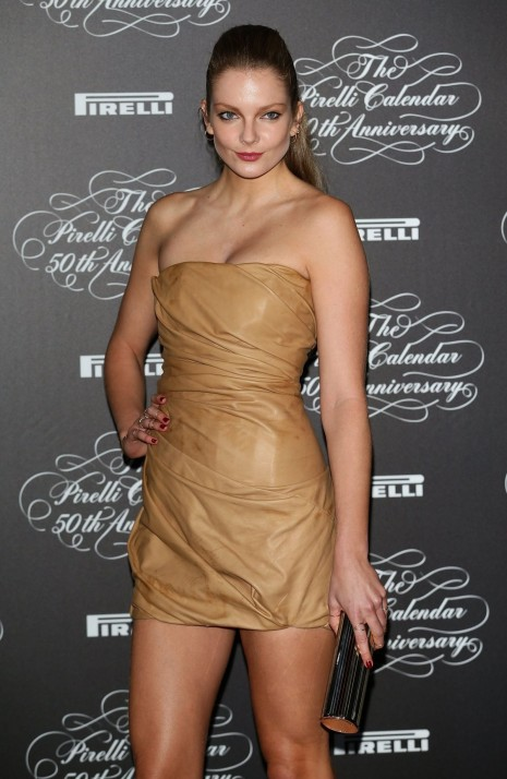 Eniko Mihalik At Pirelli Calendar Th Anniversary In Milan
