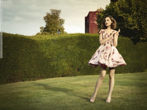 Erin Fee For Ted Baker Ad Campaign Spring Summer Photo Shoot
