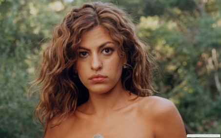Eva Mendes Forest Eyes Hd Wallpaper Body