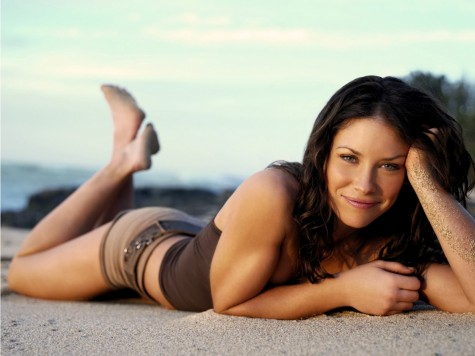 Evangeline Lilly Hobbit Fashion