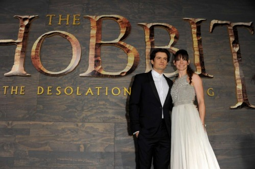 Evangeline Lilly The Hobbit The Desolation Of Smaug Premiere Hobbit