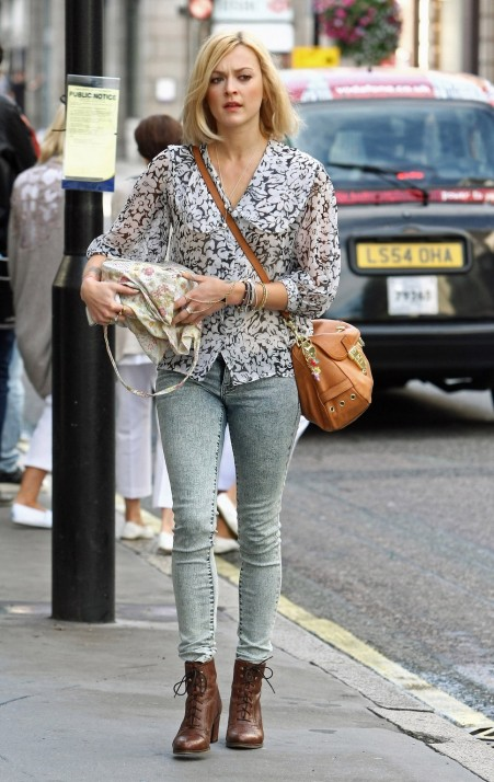 Fearne Cotton Blue And White
