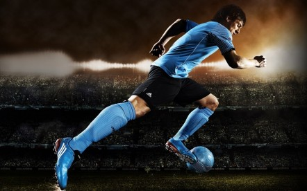 Lionel Messi Legendary Football Player Wide