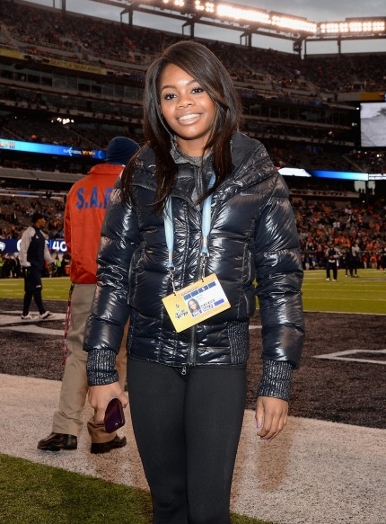 Gabby Douglas One Guests Field Super Bowl