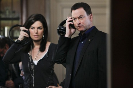 Picture Of Gary Sinise And Sela Ward In Csi Ny Large Picture Of Mice And Men