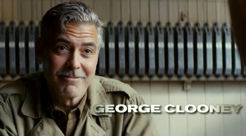 George Clooney In The Monuments Men Movie