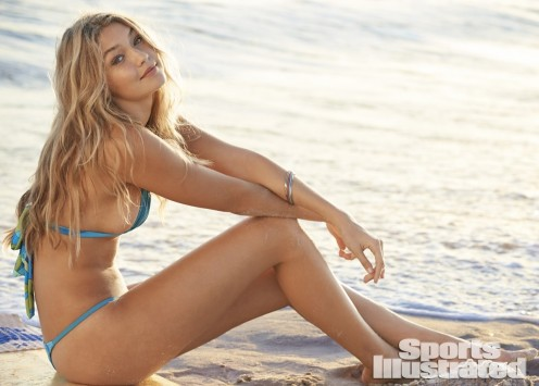 Sports Illustrated Swimsuit Model Gigi Hadid Photographed In Seaside Heights Seaside Park By Ben Watts For Sports Illustrated Sports Illustrated