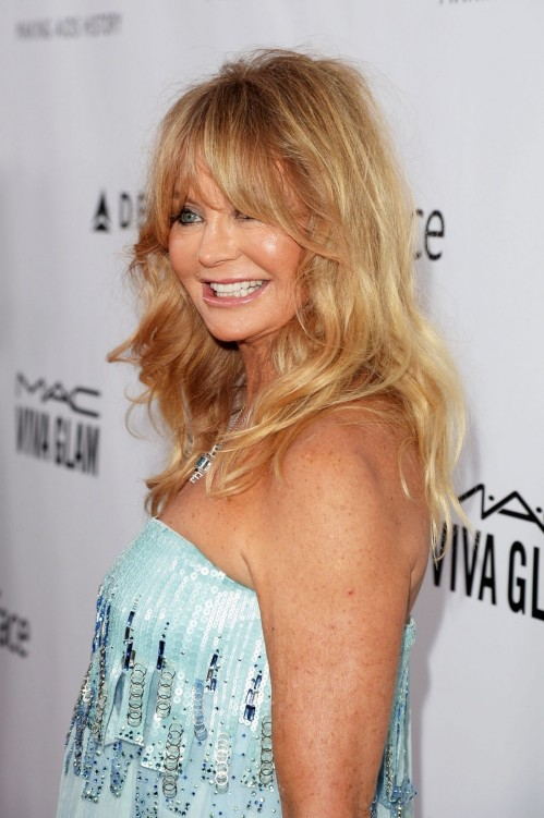 Goldie Hawn At The Amfar Inspiration Gala Los Angeles In La