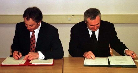 File Pics The Good Friday Agreement Was Agreed Years Ago