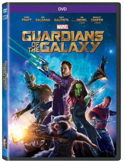 Guardians Of The Galaxy Blu Ray Dvd Cover