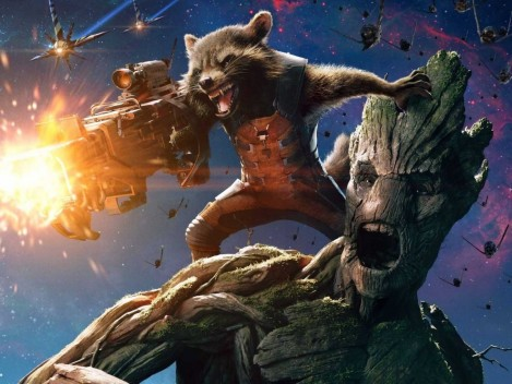 Guardians Of The Galaxy Groot Rocket Groot
