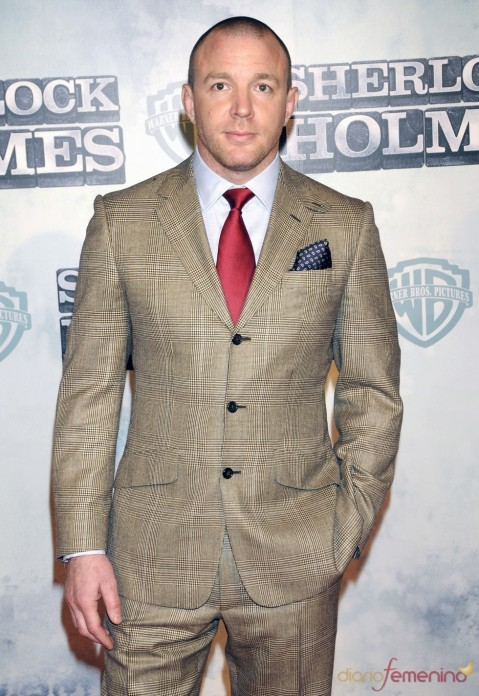 Attractive Figure Of Guy Ritchie