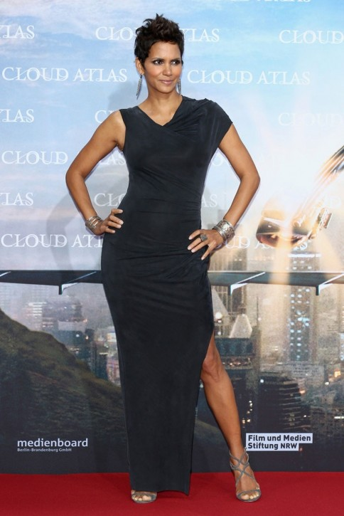 Halle Berry At Cloud Atlas Premiere In Berlin