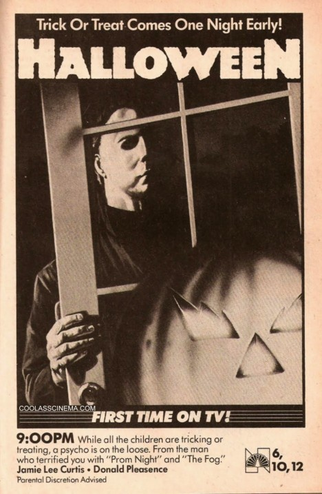 Vintage Halloween Tv Guide Ad Oct Tv